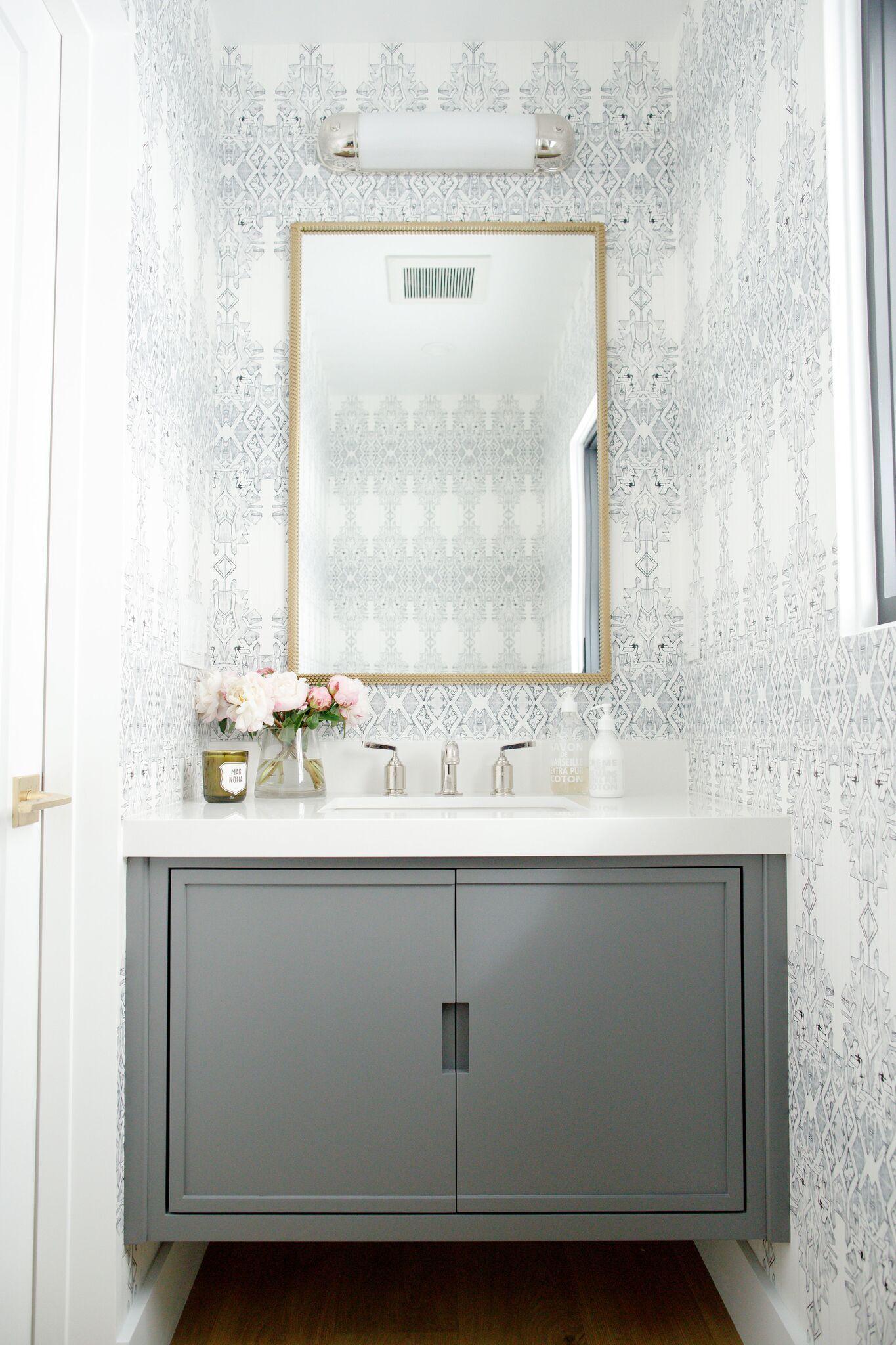 Rangeview Reno Pt.2: Kitchen + Bathrooms | Studio mcgee, Powder room ...