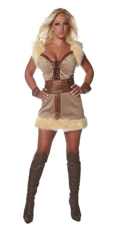 Sexy viking halloween costume