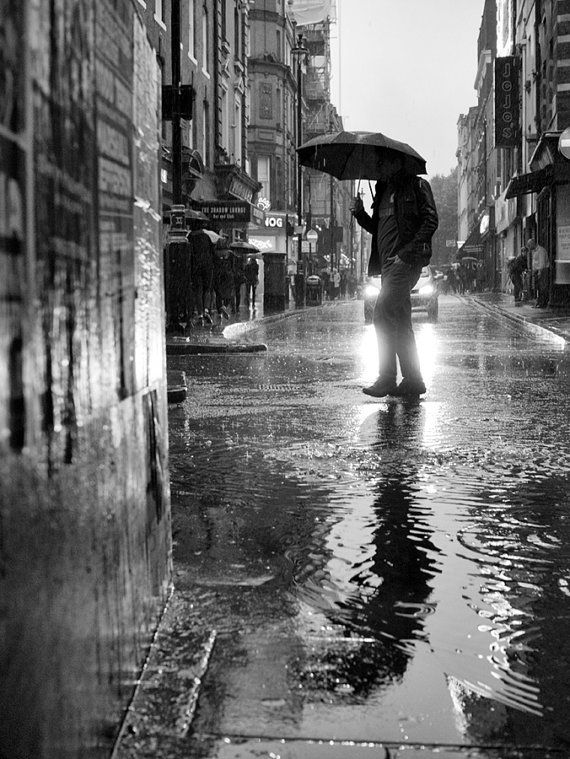 London photography rain photography street by londonstreetphoto