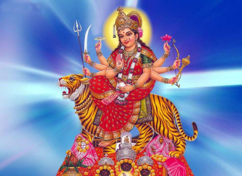Durga Mata Ke Wallpaper Free Download   Durga images ...