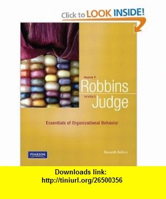 Stephen Robbins Organizational Behaviour 13th Edition Ebook