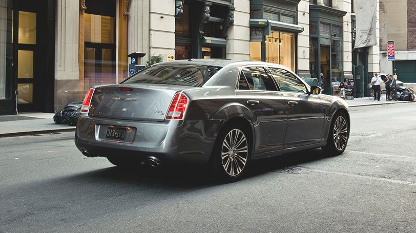 The 2014 Chrysler 300s Comes Standard With 20 Inch Polished Face