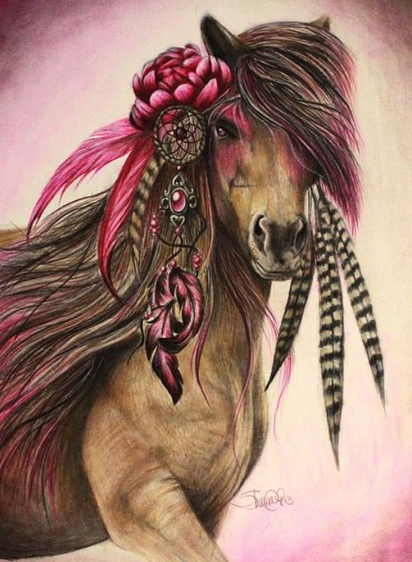 Populaire Cheval indien | ideas for tattoo | Pinterest | Chevaux indiens  PT74