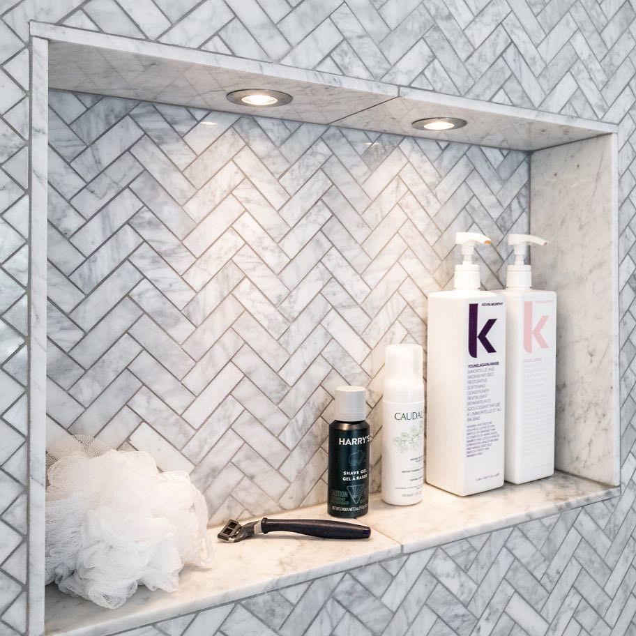 Small Bathroomdesign Ideas: Shower Niche Trends & Designs