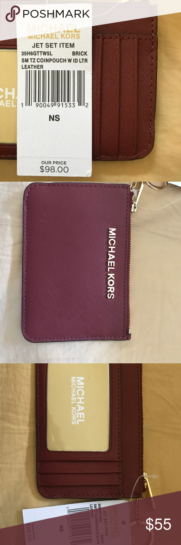 Michael Kors Coin Pouch Brand new with tags, MK Coin Pouch ...