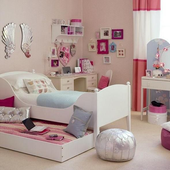 Small Room Design Ideas For Teenage Girls | House Decorating Ideas