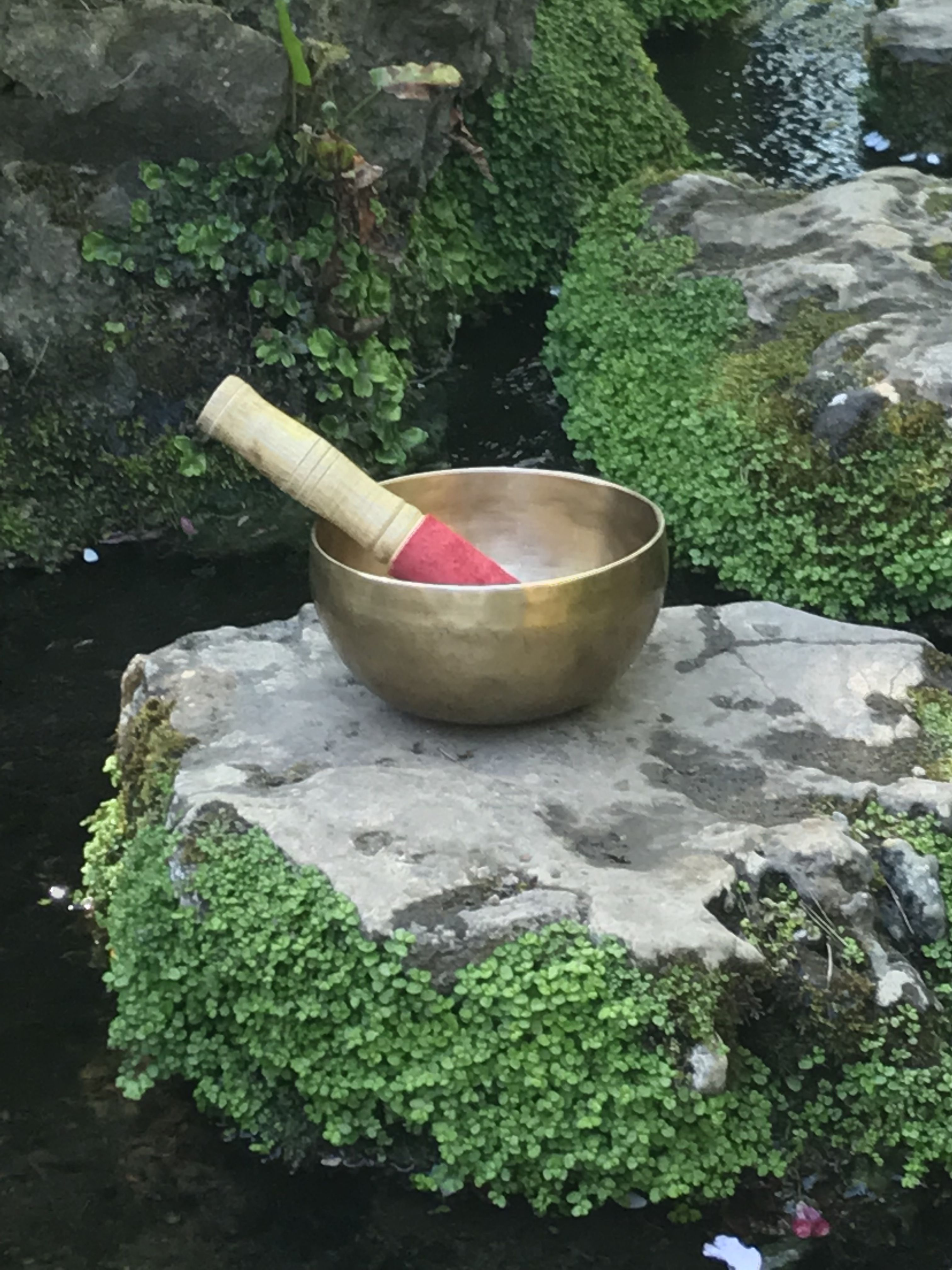 how to use a singing bowl video