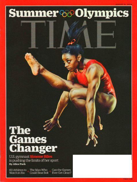 TIME Magazine August 8, 2016 SIMONE BILES, Jill Stein, Putin, Libya, ISIS - NEW