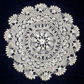 This sample of Armenian needle lace is the lead image for the WikiProjects; Textile Arts. If it intrigues you, check out the Wikipedia entry for Armenian needle lace - maybe you can add information! From ThreadsMagazine.com.