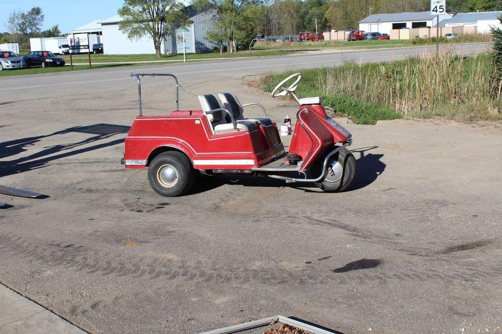 Harlydavidson 3 Wheel Golf Cart 1968 Vintage Parts Golf Carts Vintage Parts 3rd Wheel
