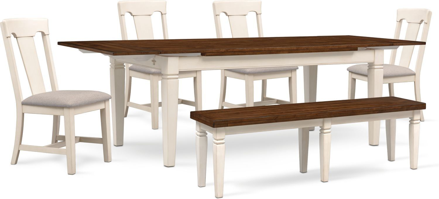 Super Adler Dining Table 4 Side Chairs And Bench Products In Ibusinesslaw Wood Chair Design Ideas Ibusinesslaworg