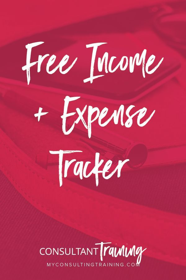 FREE Income and Expense Tracker   * Boss Moms - Group Board
