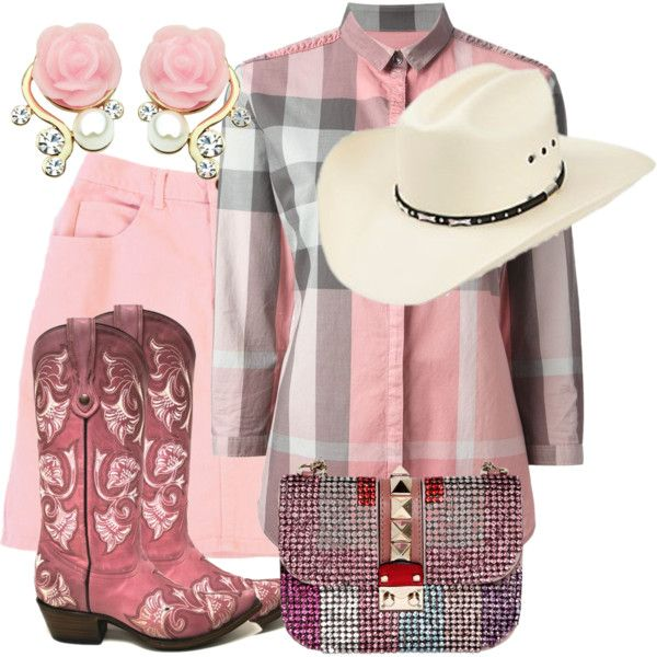 """Cowgirl Pinks"" by debpat on Polyvore"