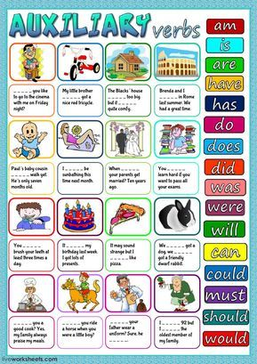 Auxiliary Verbs Interactive And Downloadable Worksheet You Can Do The Exercises Online Or Download The Worksheet As Verb Worksheets Verb Learn English Grammar