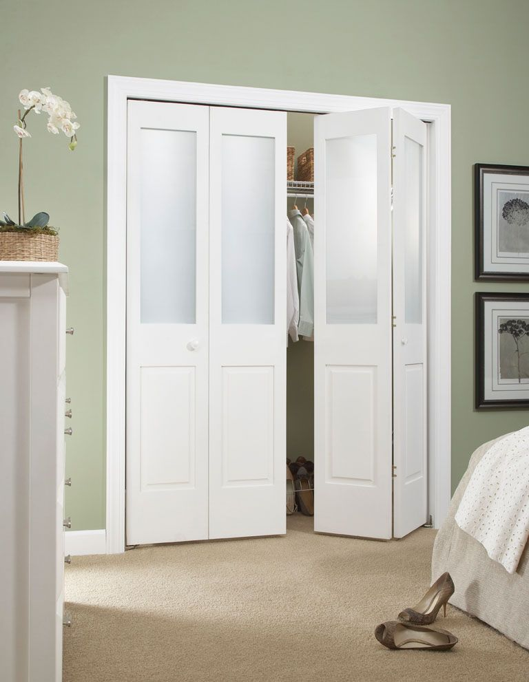 Create A New Look For Your Room With These Closet Door Ideas Bifold Closet Doors Closet Doors Folding Closet Doors