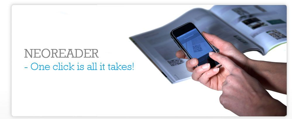 NeoReader App to scan QR codes Coding, Technology