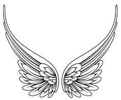 #angel #wings  simple angel wings tattoo - Google Search
