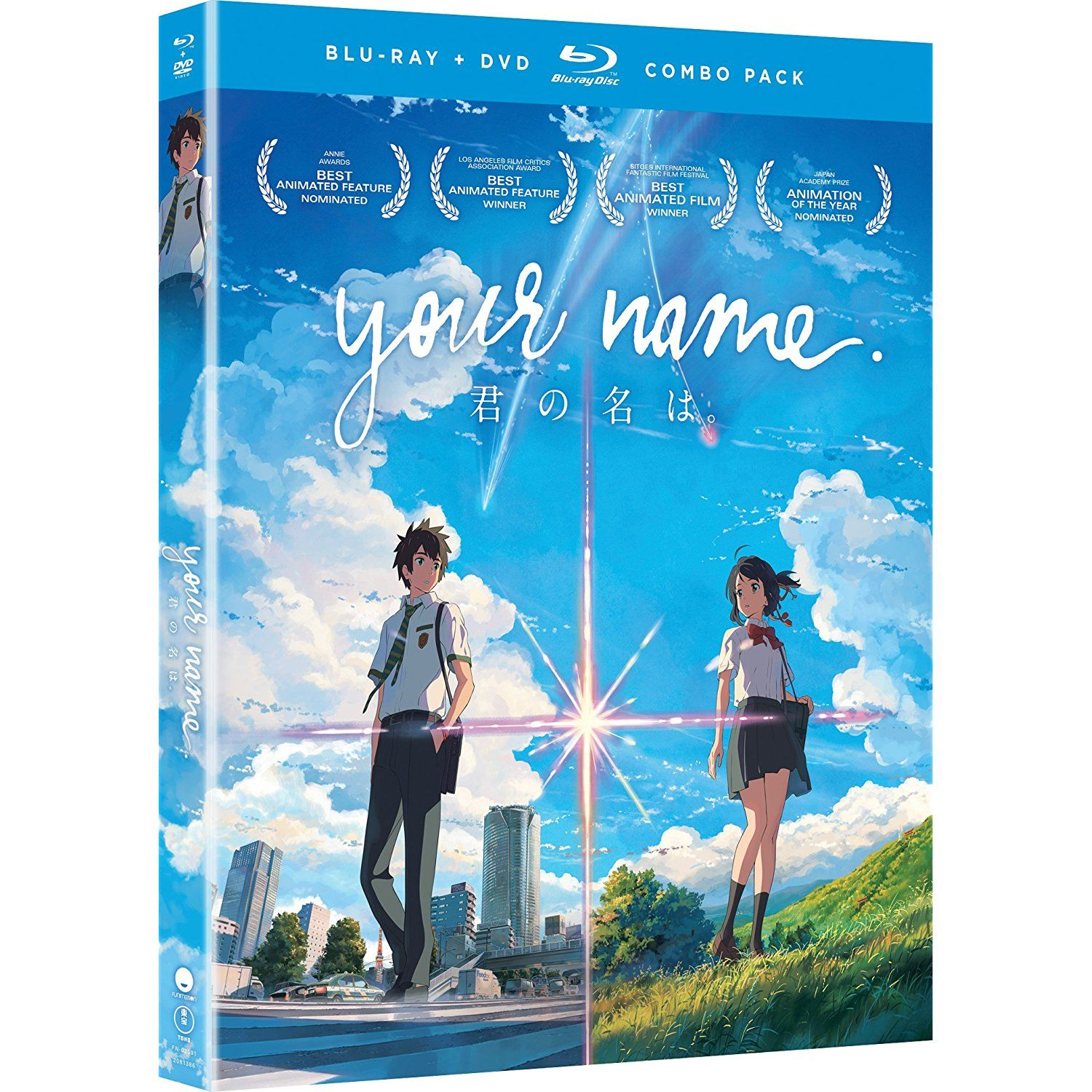 Your Name (Bluray/DVD Combo) *** You can find out more