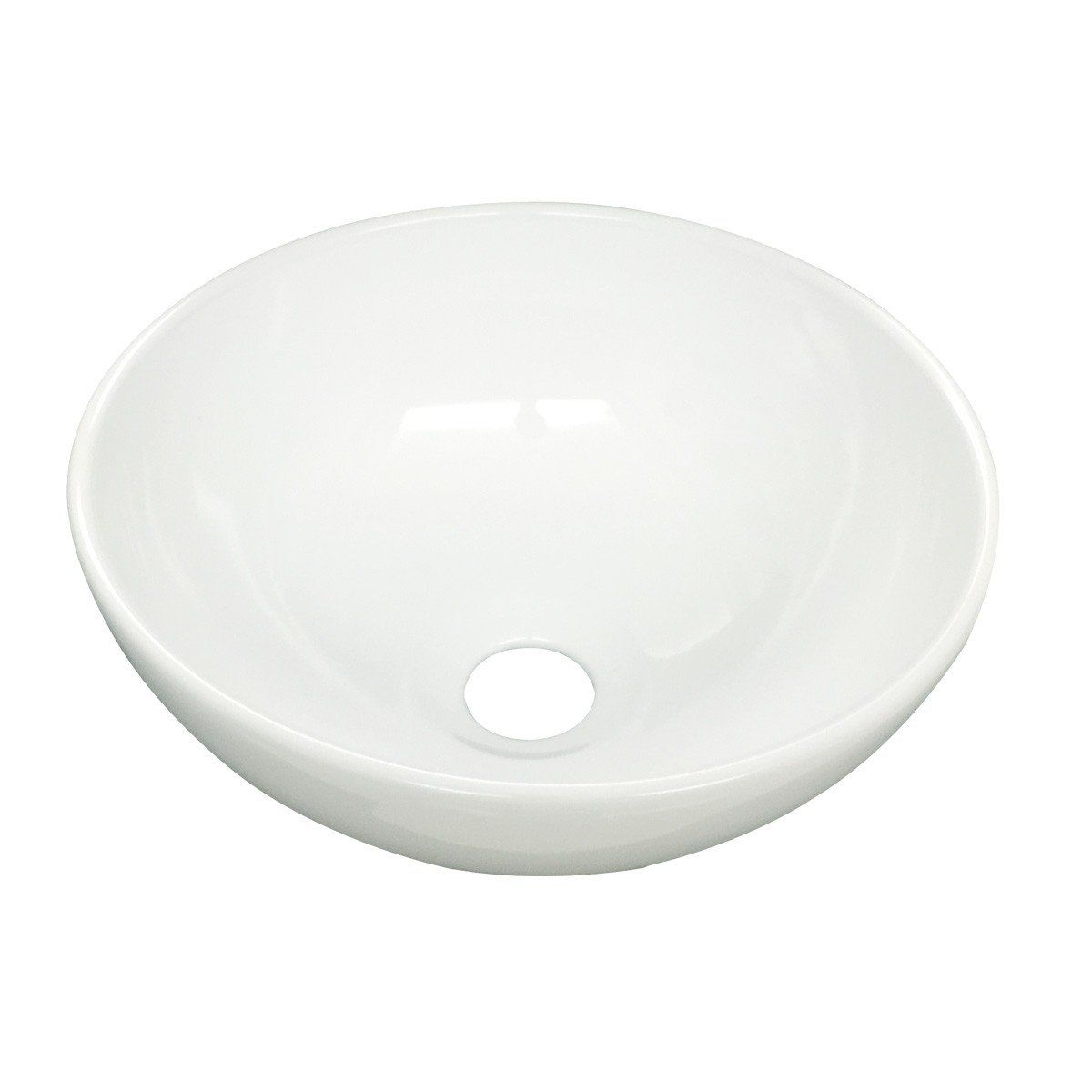 Small Mini Above Counter Round Bathroom White Vessel Sink 11 25 Inches D You Can Find More Details By Visiti Small Vessel Sinks White Vessel Sink Vessel Sink