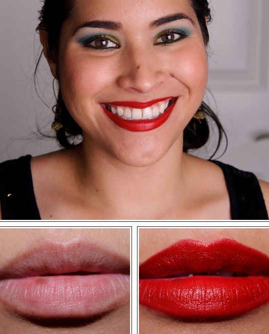 mac tinted lipglass russian red swatches