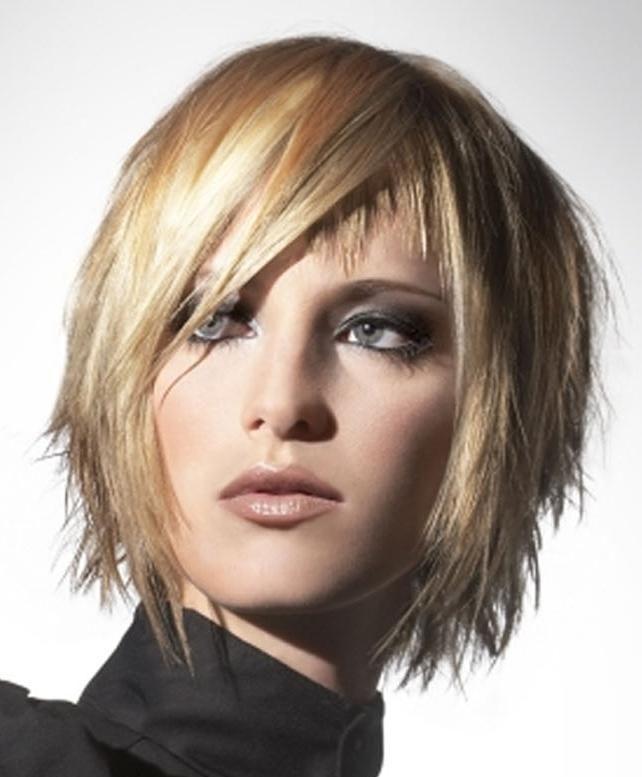 Asymmetrical Haircuts 2013 Chin Length Layered Haircut