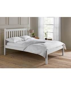 Silbury Small Double Bed Frame White Bed Frame Double Bed Frame Small Double Bed Frames
