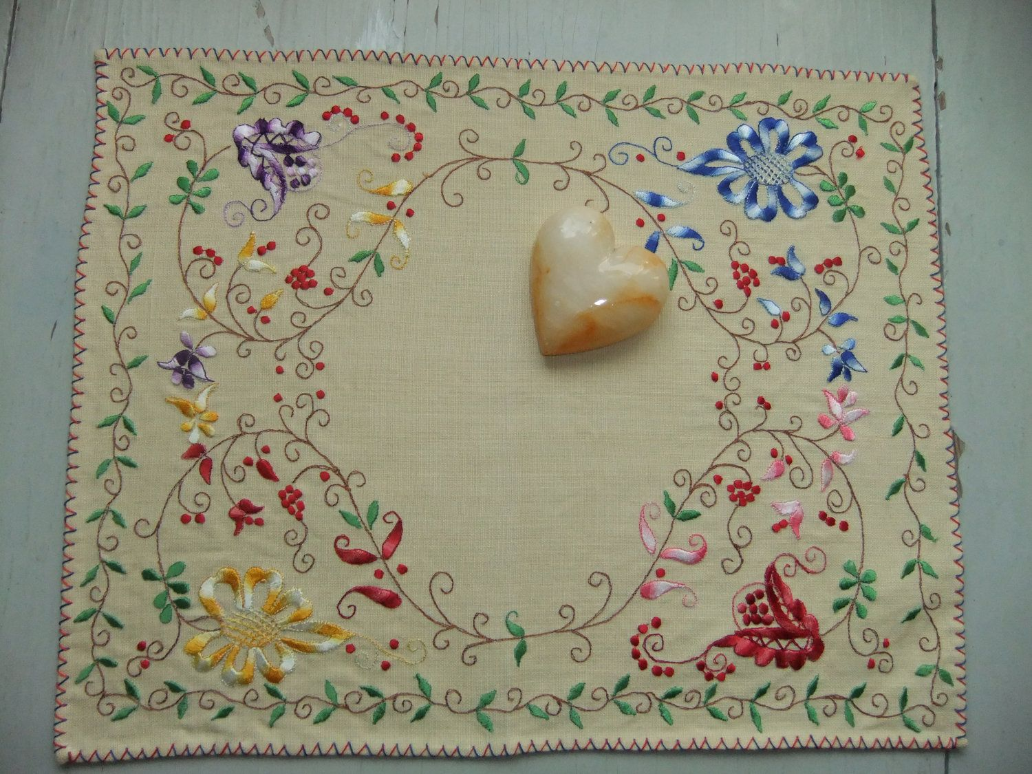 Vintage Swedish tablecloth