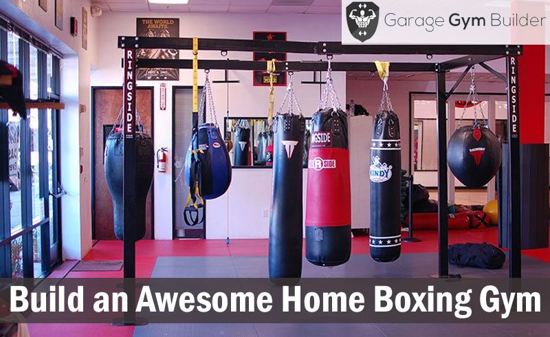 Home boxing gym advantages garage gym builder casa ladder