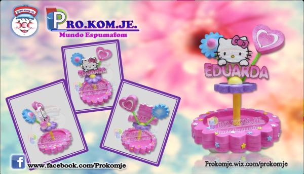 Caramelera Hello Kitty personalizada.