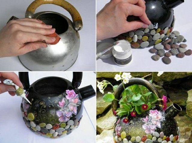 Blumentöpfe | Deko | Pinterest | Haus Und Garten Originelle Blumentopfe Selbst Gemacht