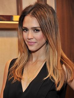 Jessica alba sombre hair google search hair pinterest jessica alba ombre hair love that it starts out highlighted then gets more blonde pmusecretfo Choice Image