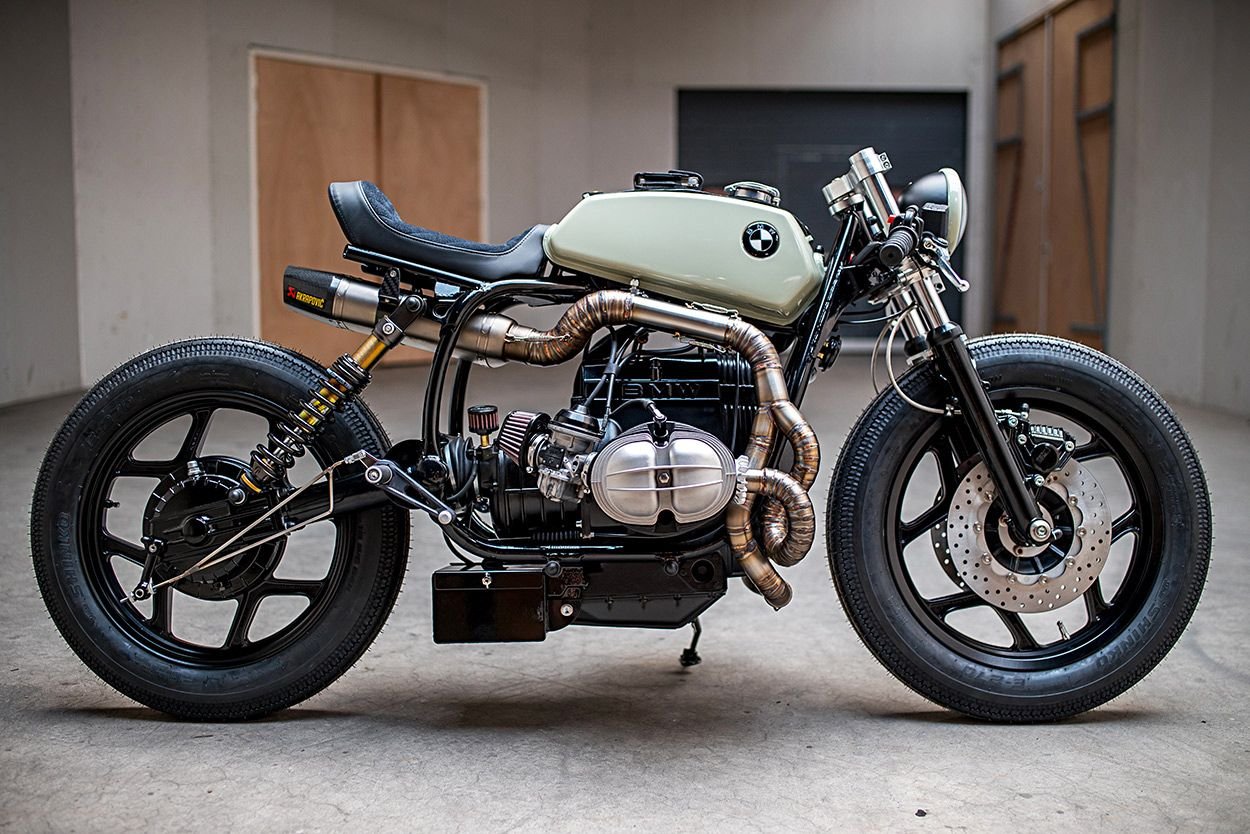 The Mutant An Angry Bmw R80 By Ironwood Motorcycles With Images