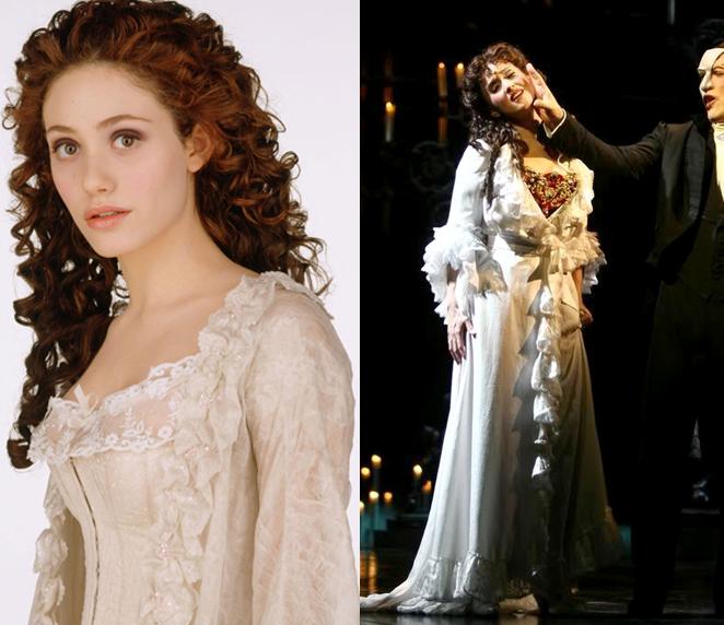 Christine Daae Dressing Gown: Christine Daee Stage Vs Movie Costumes