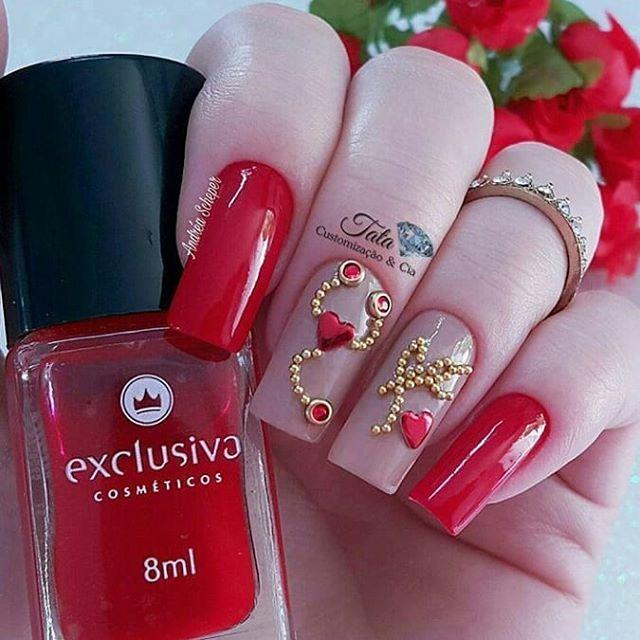 Instagram Post by Mania de Mulher (@disclosenails) | Diseños de uñas ...