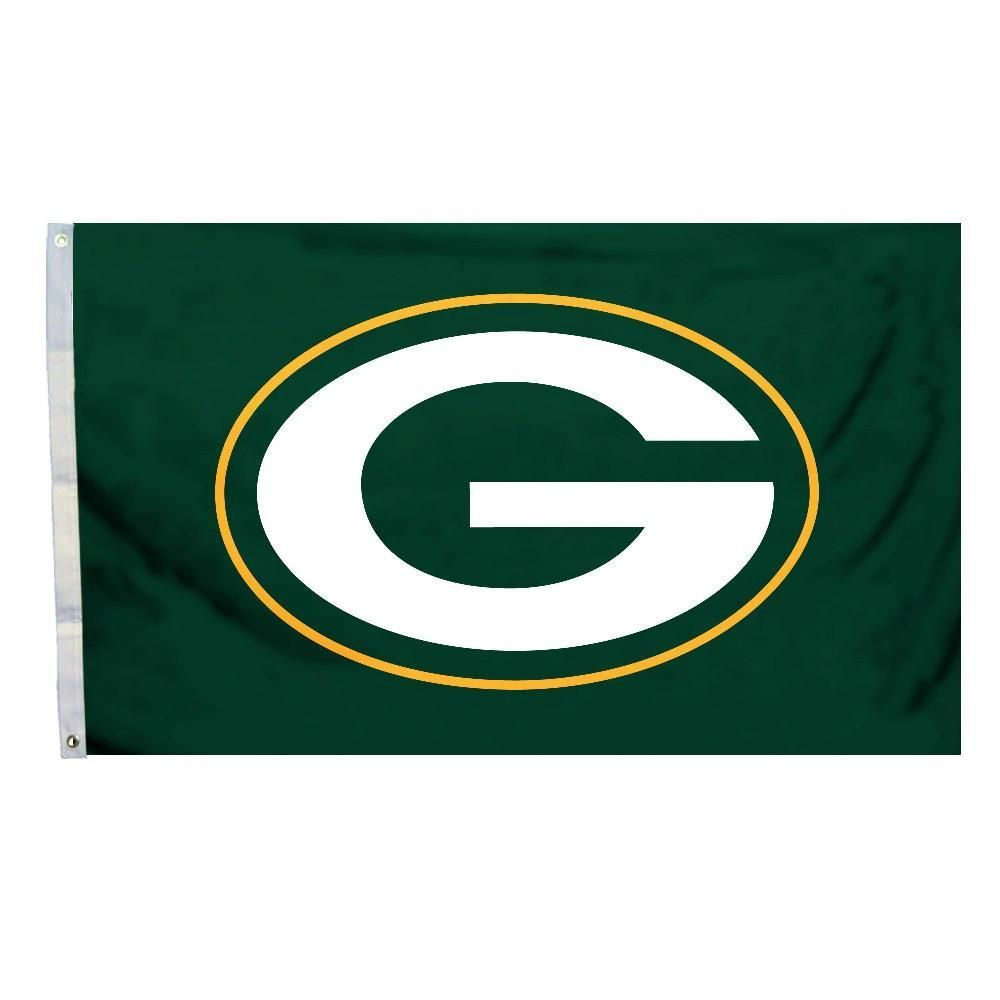 Green Bay Packers 3 Ft X 5 Ft Flag W Grommetts In 2019 Products Green Bay Packers Game Green Bay Packers Logo Packers Team