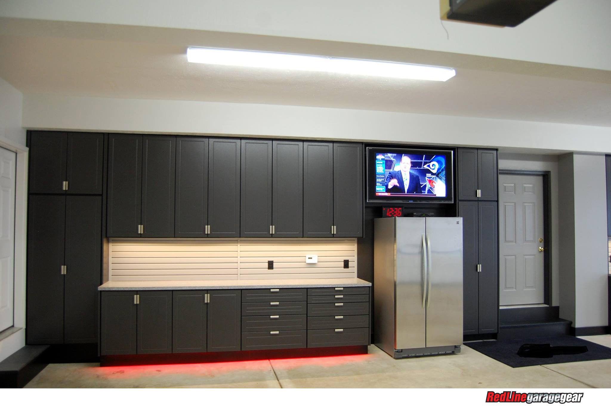 Redline Garagegear Manufactures The Finest Best Garage Cabinets In