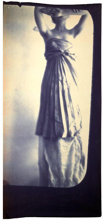 "Photo by Francesca Woodman. ""Caryatid"", 1980."