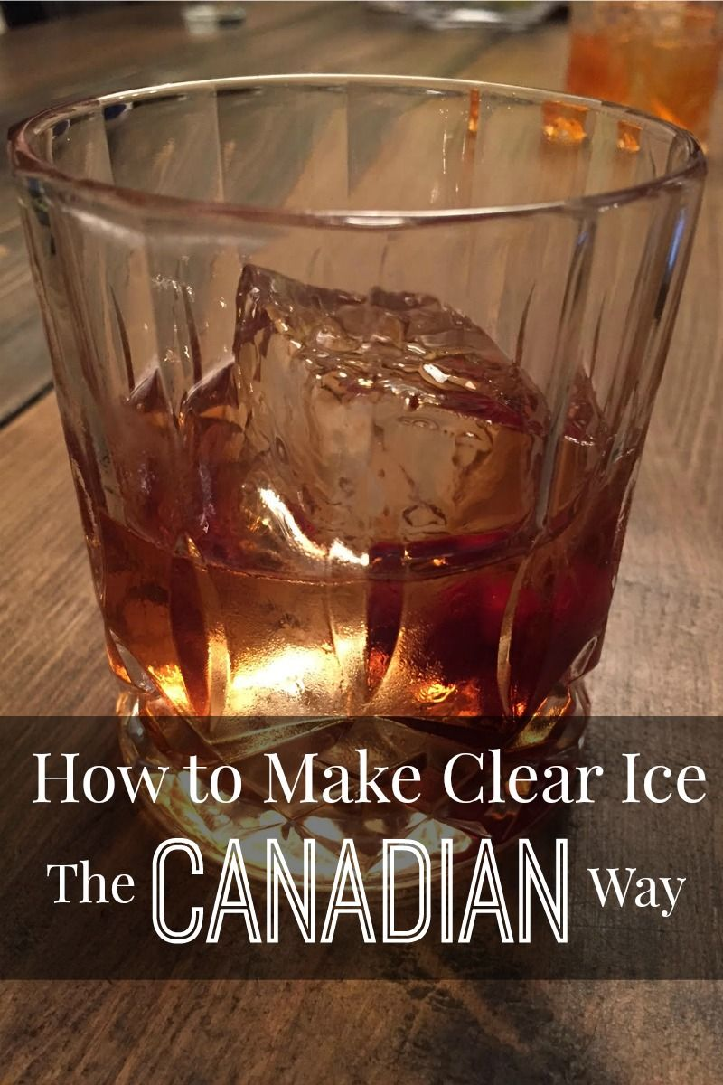 How to make clear ice the canadian way clear ice diy