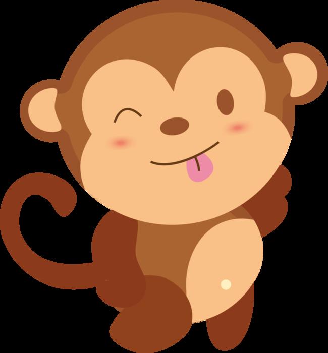 Рисунки обезьянок прикольные