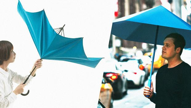 As we enter the October rainy season, you can do a lot better than your standard brolly. Here are a couple to try out instead.