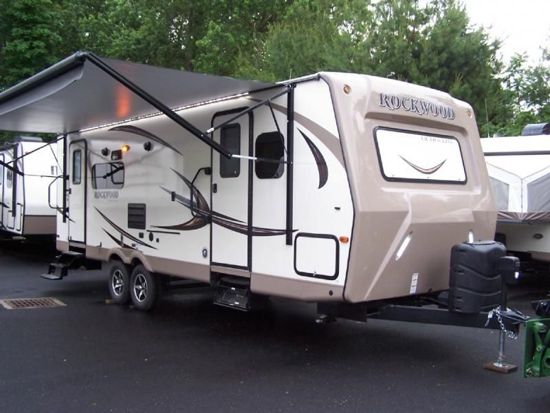Pre Owned Rockwood Ultra Lite 2604ws Travel Trailer For Sale