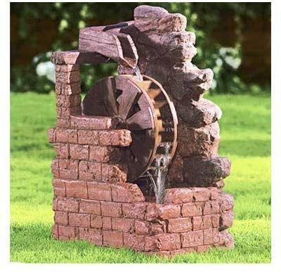 Amazon Com Beckett 7171210 Water Wheel Fountain Wall 400 x 300