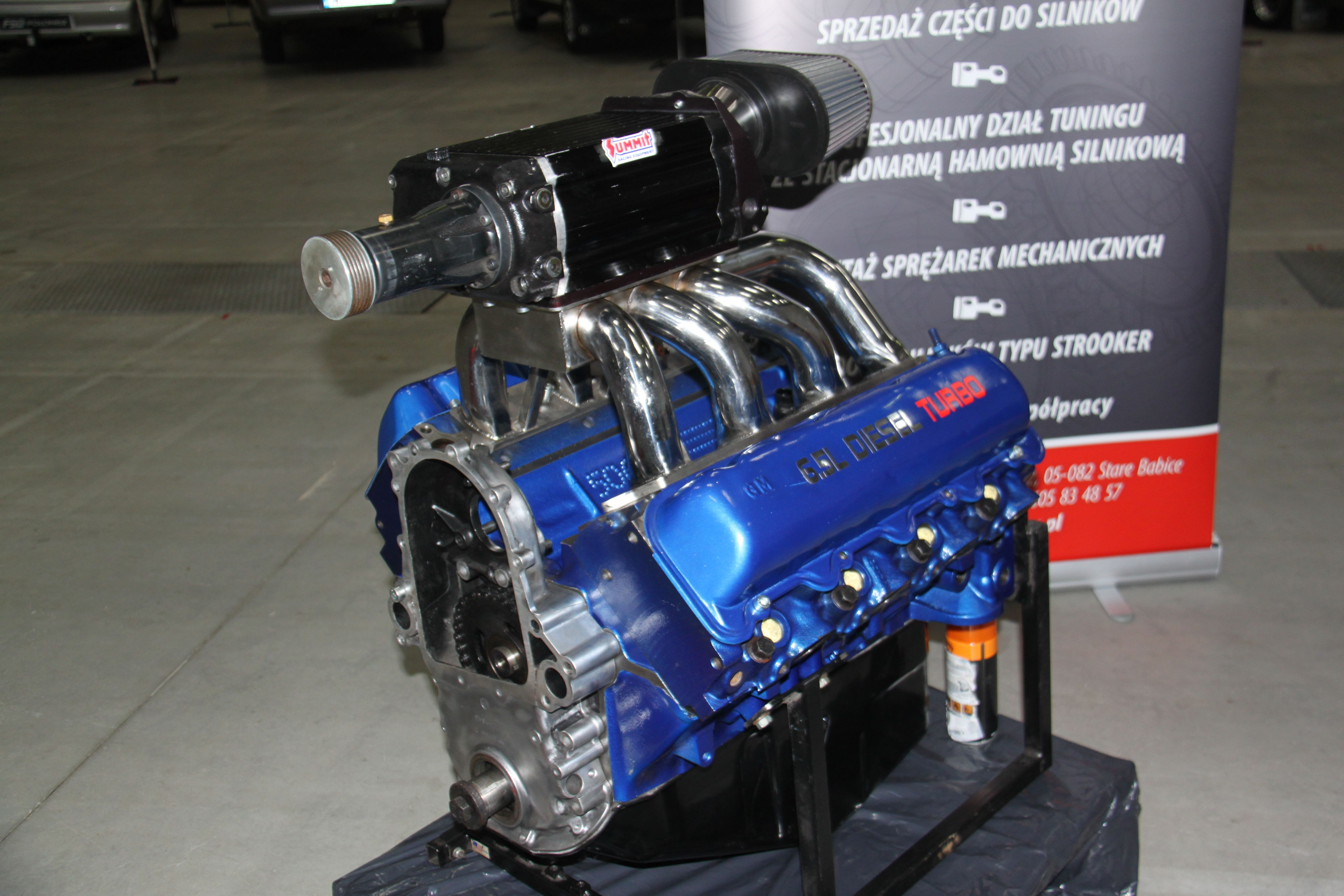 hight resolution of chevy 6 5 diesel with supercharger whipple build by hps tienda