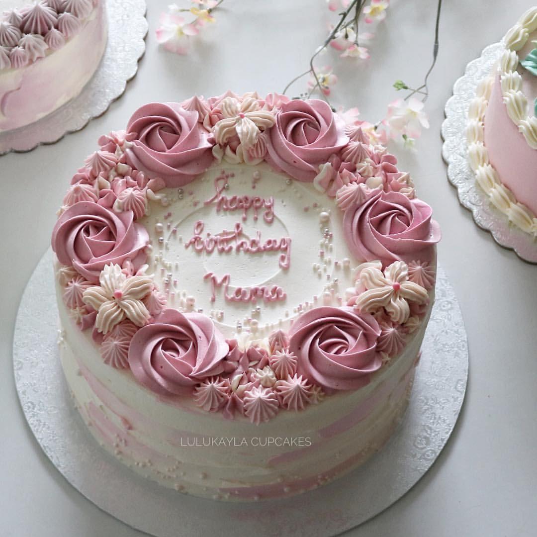 Astounding Lulukaylacupcake Instagram Cakes Cake Flowerlk Birthday Cards Printable Opercafe Filternl