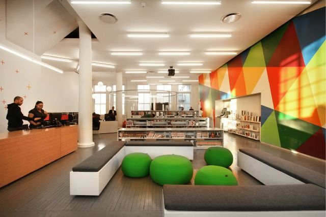 San Antonio Central Library Interior   Google Search