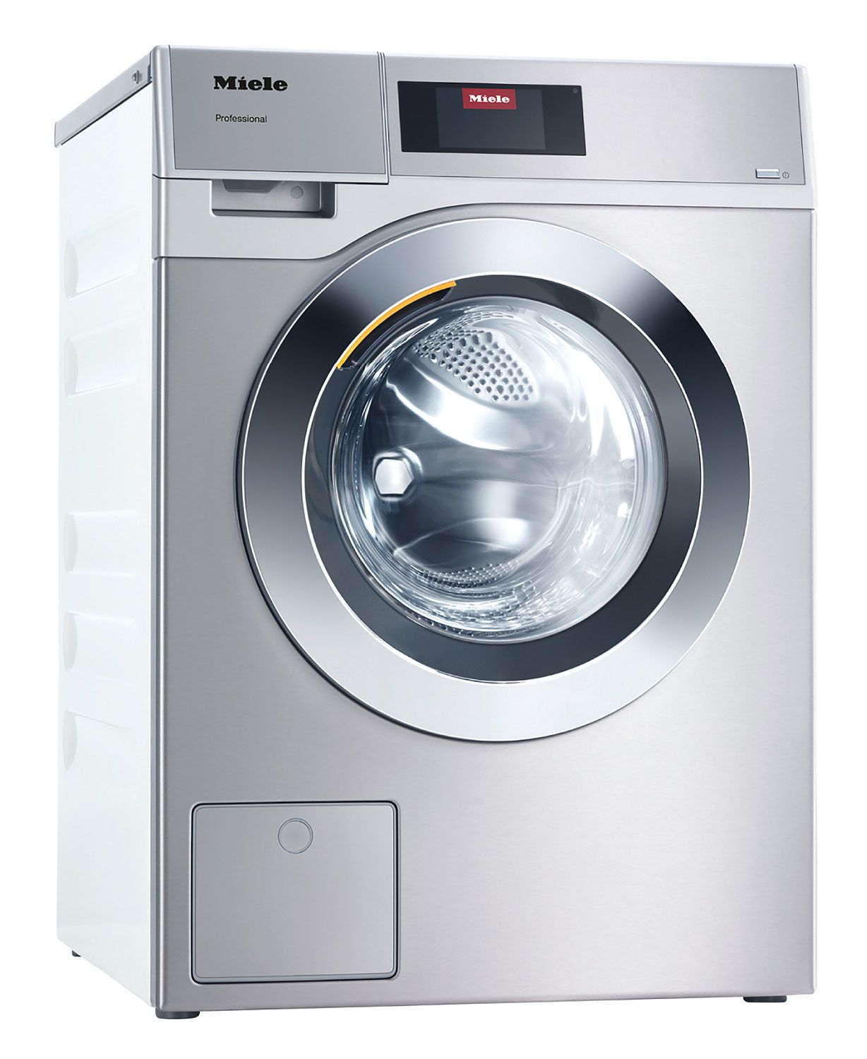 Miele 24 Stainless Steel Front Loading Washing Machine 11204470 Front Loading Washing Machine Washing Machine Washing