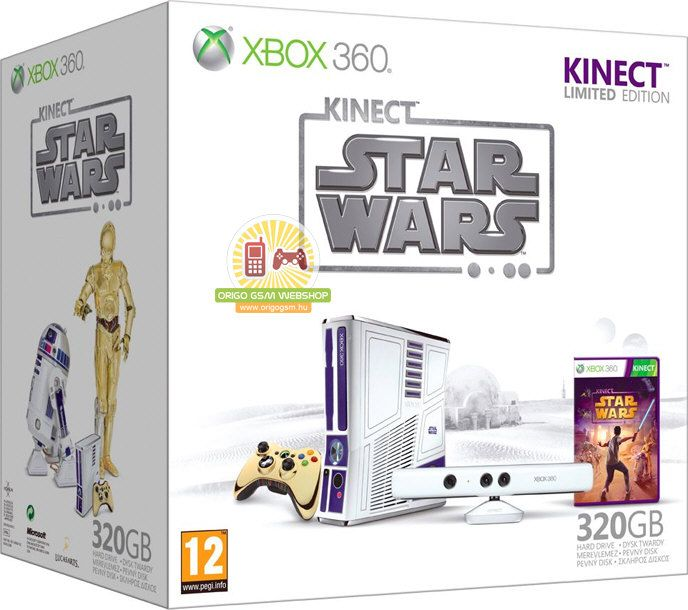 Star Wars Xbox 360 Kinect Bundle I Want This So Bad Xbox 360 Xbox One Games Kinect