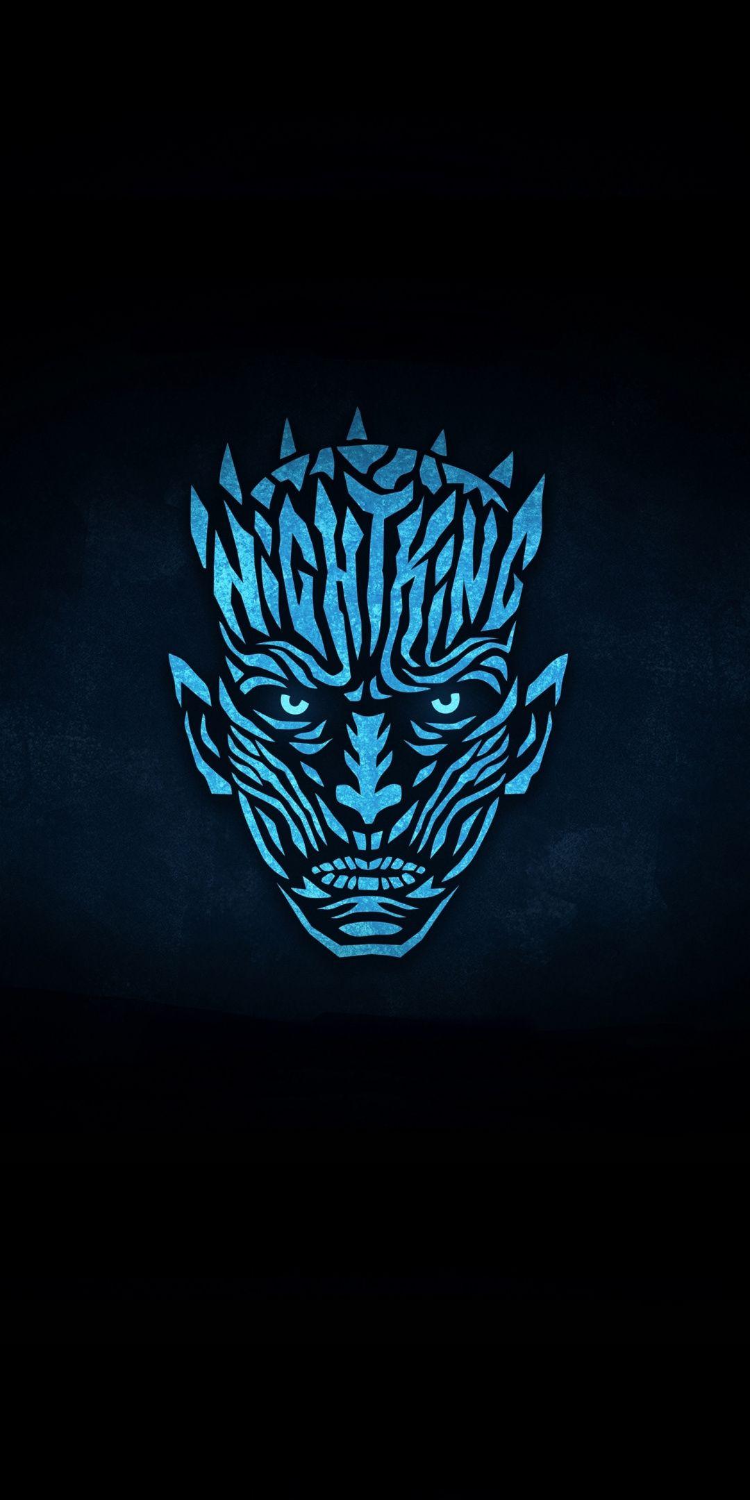 Night King Artwork Minimal Got 1080x2160 Wallpaper Night King Game Of Thrones Art Game Of Thrones Poster