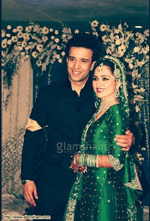 Amir Sanjeeda wed pic
