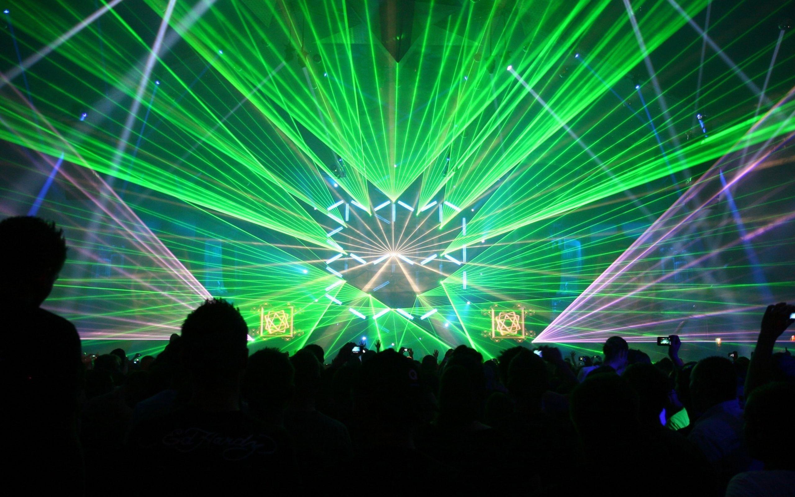 Rave Laser Lights Wallpaper Inspiration Concert Lighting